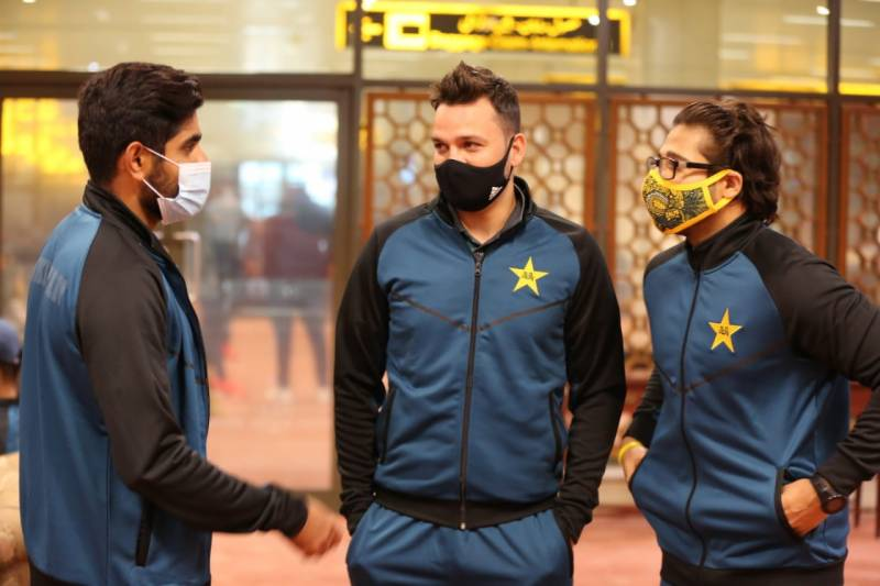 Pakistan team leaves for England to play ODI, T20I series