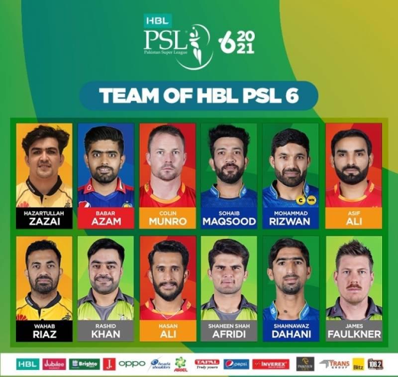 Rizwan named captain of PSL 6 team of the tournament