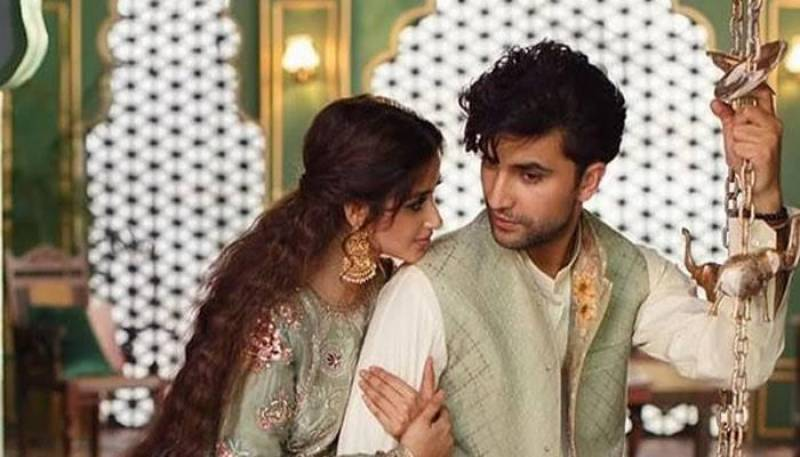Sajal Aly and Ahad Raza Mir's latest interaction leaves fans curious