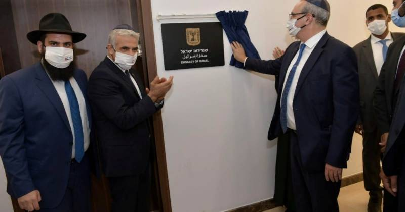 Israel opens first embassy in Gulf during diplomat's visit