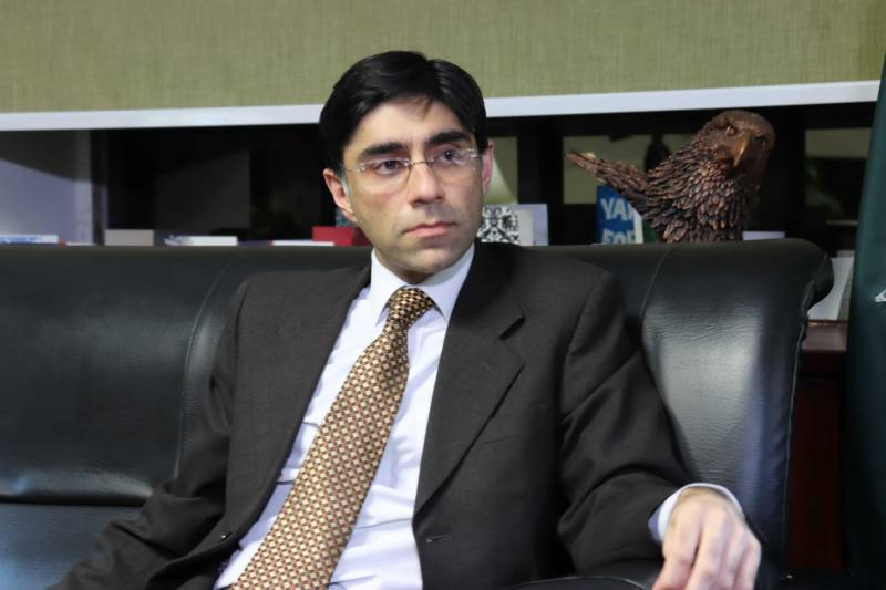 Pakistan NSA Moeed Yusuf denies secret meeting with Israeli officials