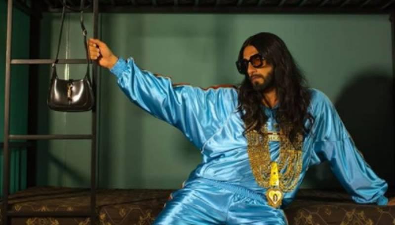 Ranveer Singh's Gucci photoshoot breaks the internet