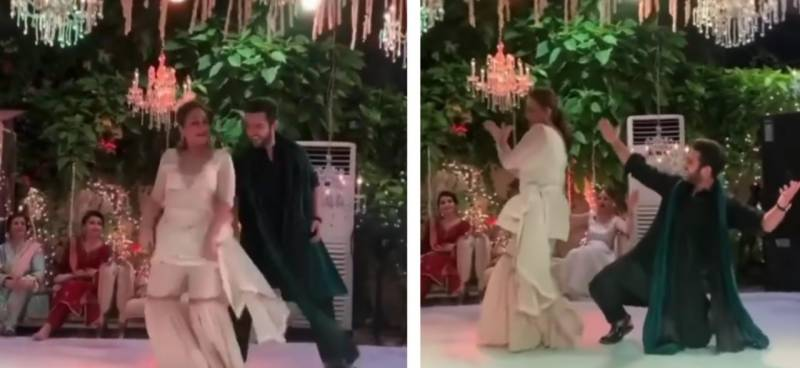 Bushra Ansari and Azaan Sami's dance video goes viral