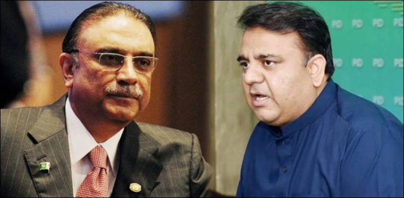 NAB has recovered Rs33 bn in fake accounts case involving Zardari: Fawad Chaudhry