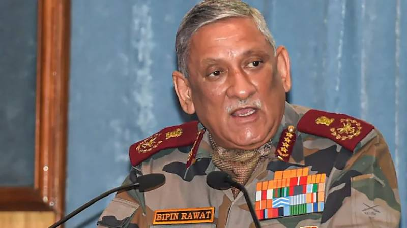 Top Indian general blames dubious drone attack on Pakistan without any proof