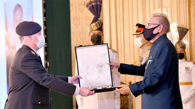 Commander of Turkish Land Forces receives Pakistan's Nishan-e-Imtiaz