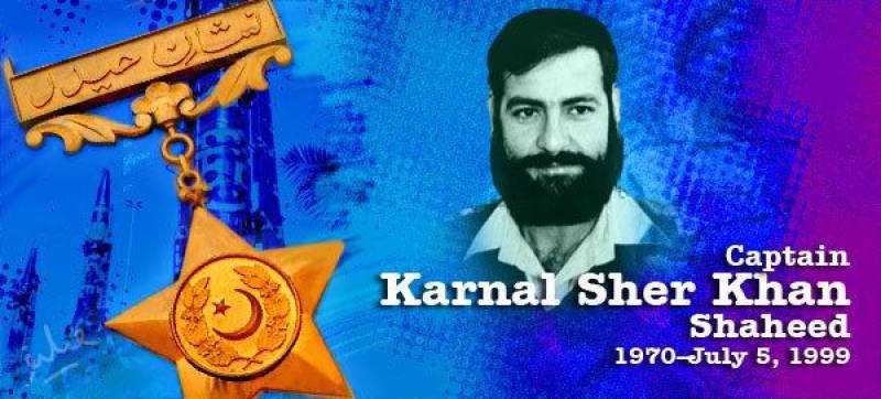 Kargil war hero Karnal Sher Khan remembered on 22nd martyrdom anniversary