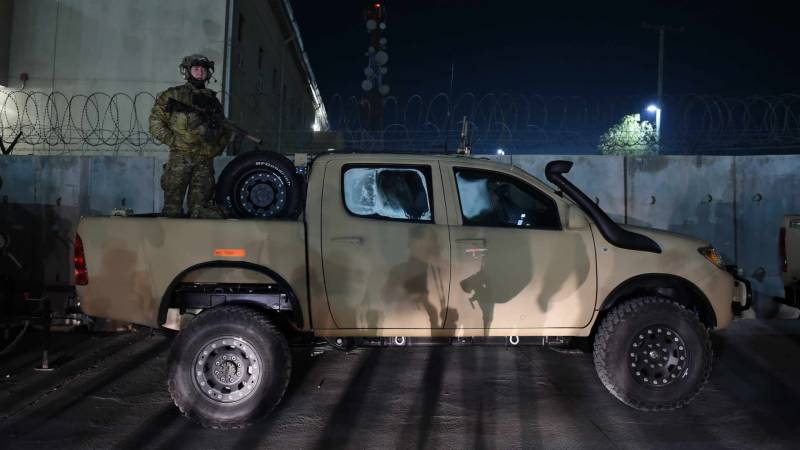 American troops left Bagram Airbase at night without notifying Afghans, says Afghan commander