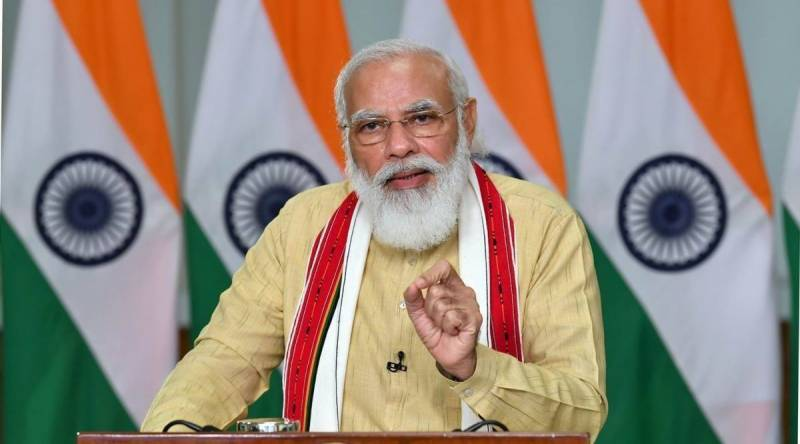 Modi inducts 36 new ministers in his biggest cabinet reshuffle