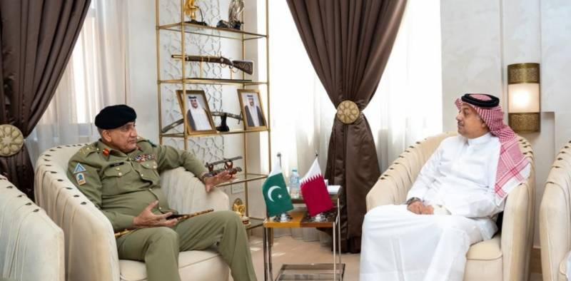 Pakistan Army chief meets top defence leadership on two-day visit to Qatar