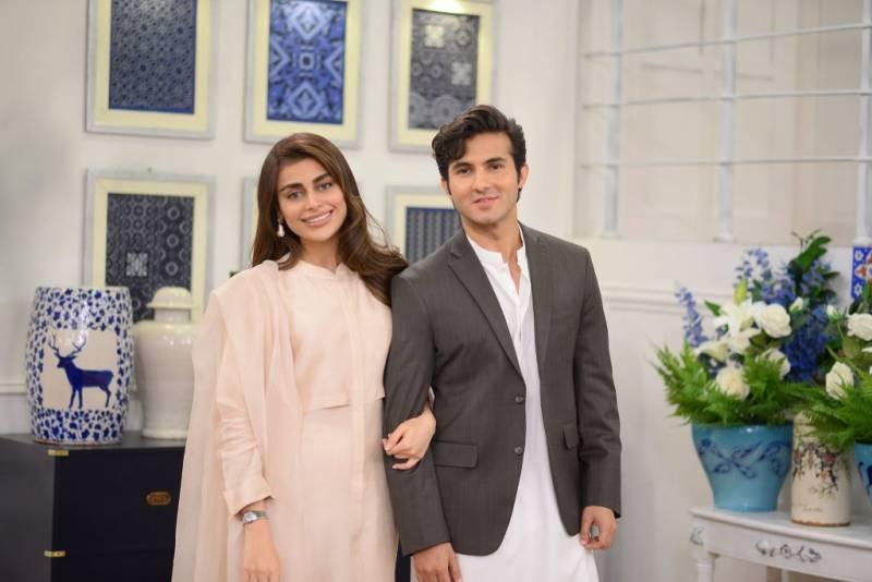 Shahroz Sabzwari spills the beans on why he married Sadaf Kanwal