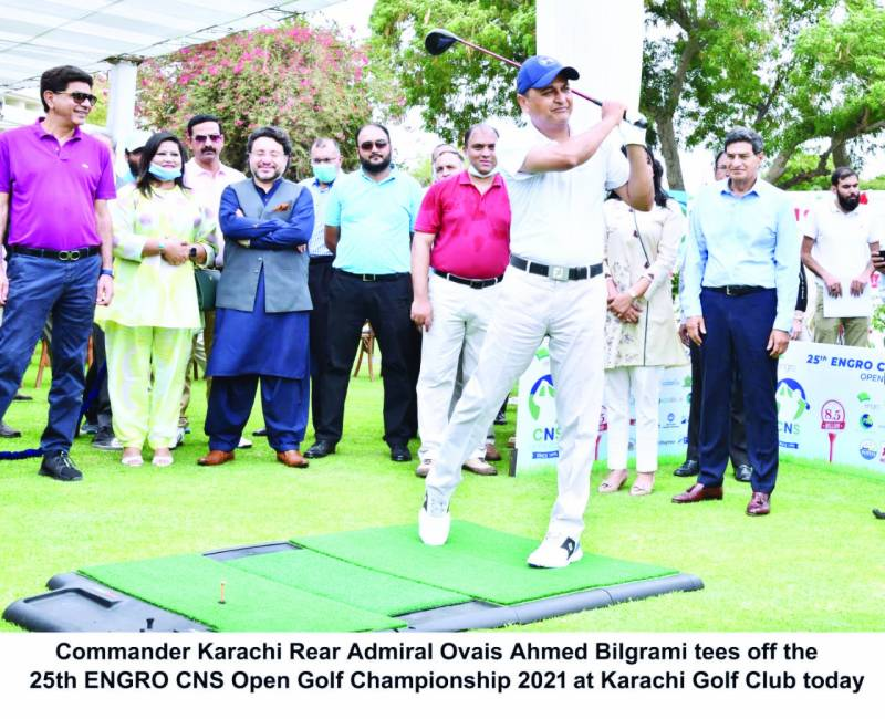 25th CNS Open Golf gets underway