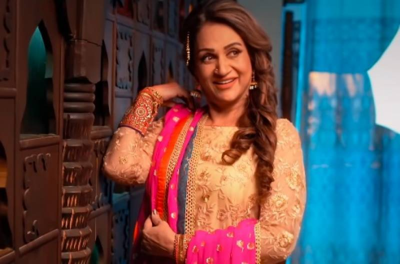 Bushra Ansari's new dance video takes internet by storm