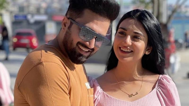 WATCH – Sarah, Falak hint towards a surprise for fans on first wedding anniversary