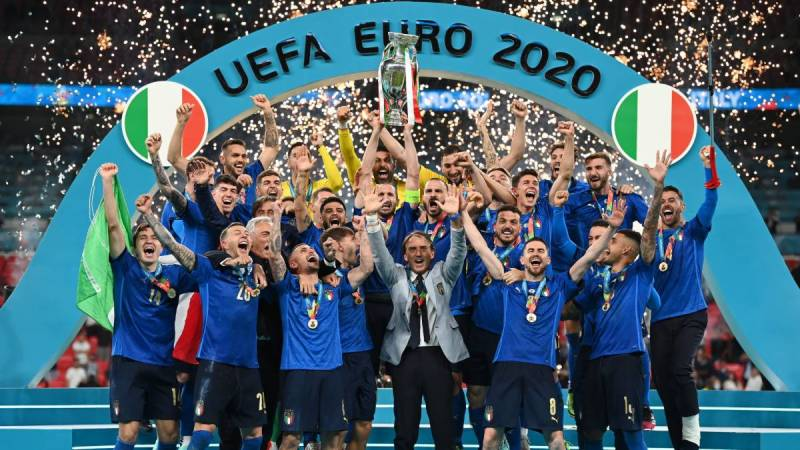 Italy clinches 2nd European Championship title after beating England with penalty shootout