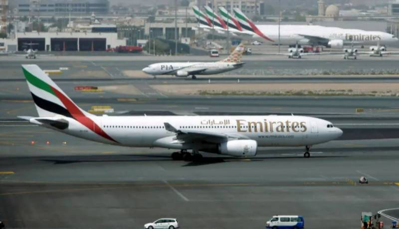 Emirates extends suspension of flights from Pakistan
