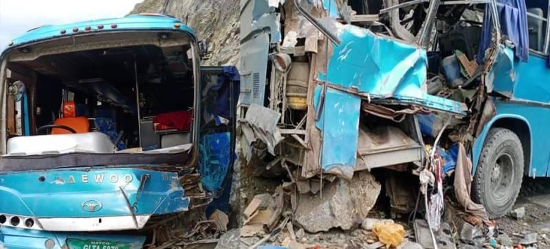 Nine Chinese among 13 killed in Upper Kohistan bus blast