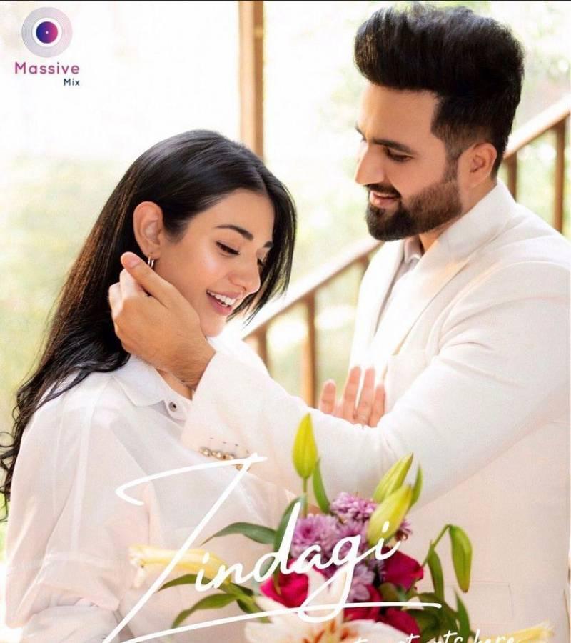 Zindagi – Sarah Khan and Falak Shabir's new song to mark their wedding anniversary