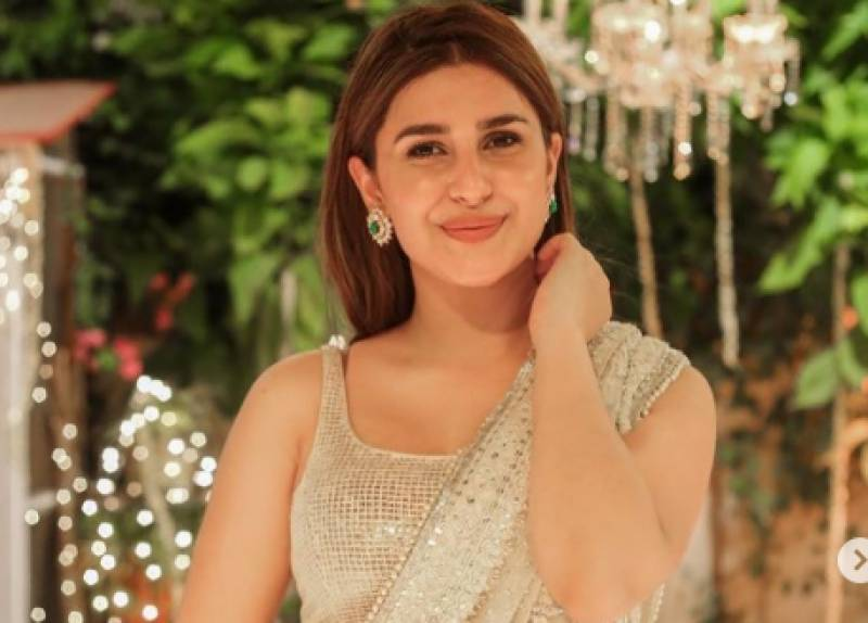 Kubra Khan sets internet on fire with new photos in saree