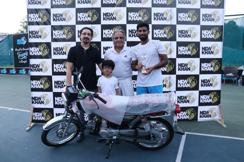 Muhammad Abid clinches New Khan Punjab Open Tennis Championship 2021