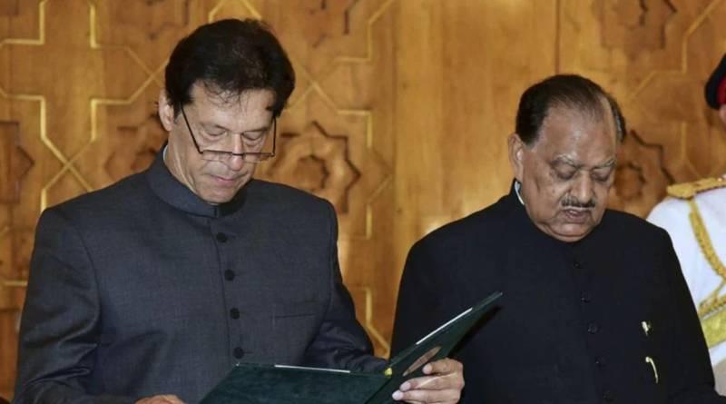 PM Imran condoles death of former President Mamnoon Hussain