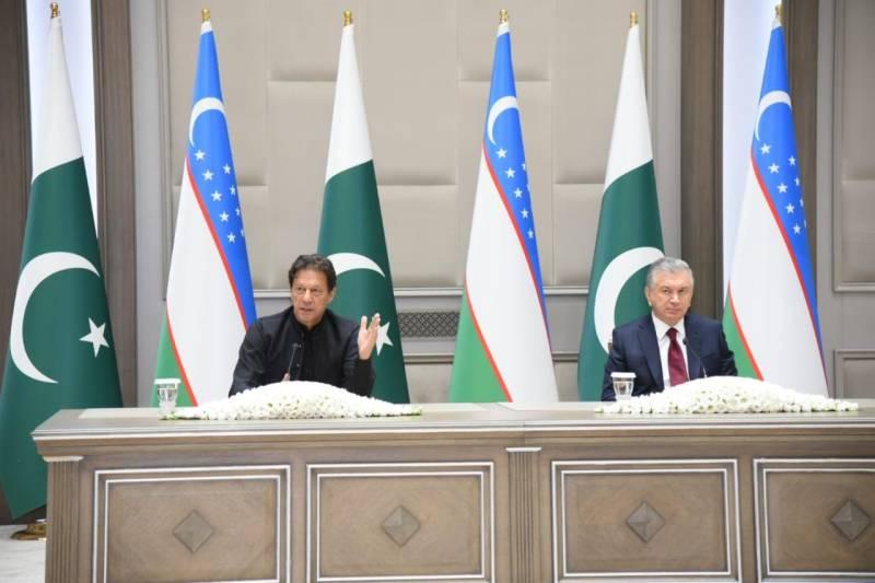 Uzbekistan visit – PM Imran emphasises connectivity between Central and South Asia for economic development