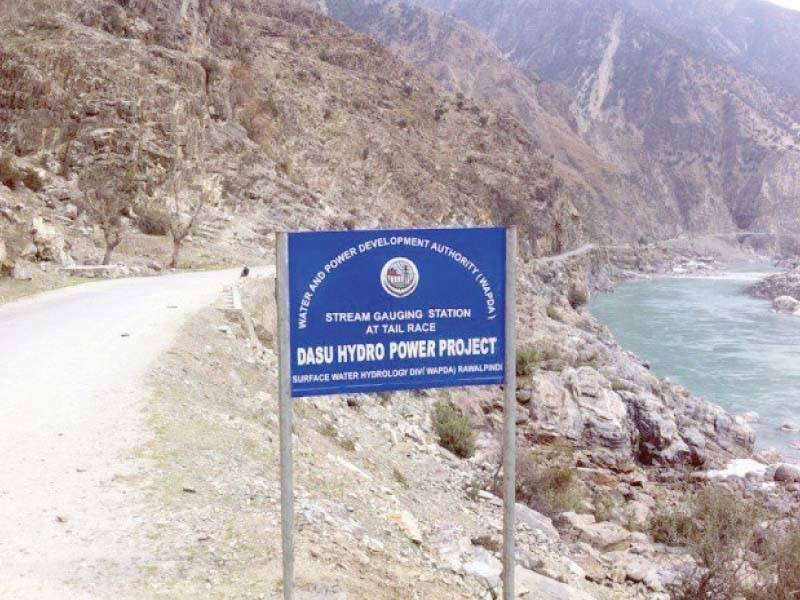 Chinese firm to continue work on Dasu dam as notification of Pakistani staff removal withdrawn