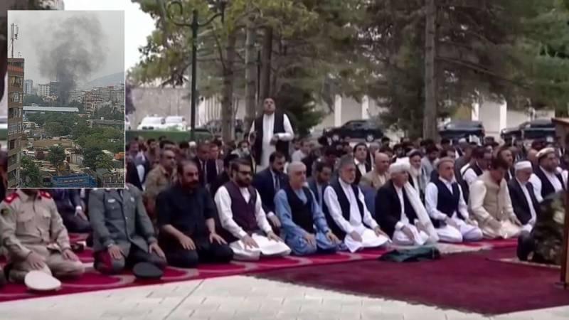 WATCH: Rockets land near Afghan presidential palace during Eid prayers