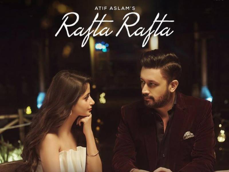'Rafta Rafta' – Atif Aslam and Sajal Aly's music video is out now
