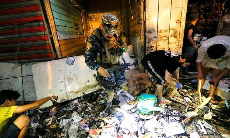 Pakistan condemns deadly Iraq market blast
