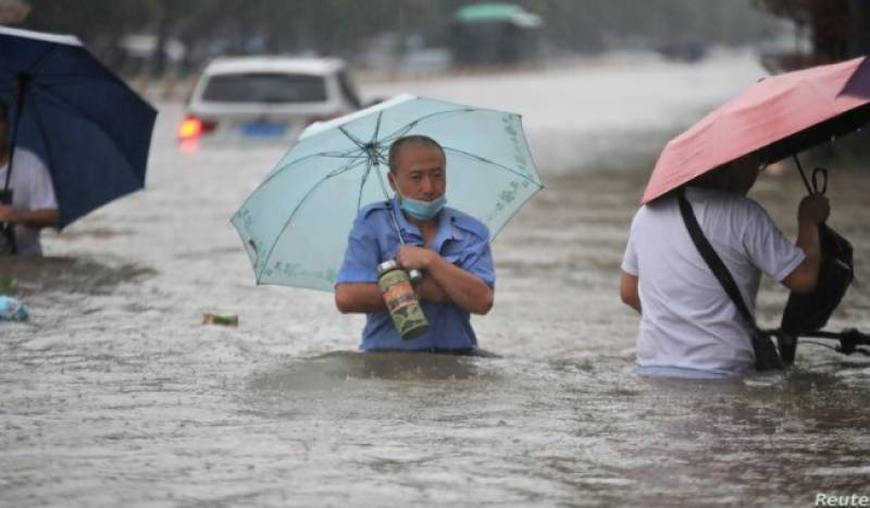 Pakistan laments the loss of lives in China floods