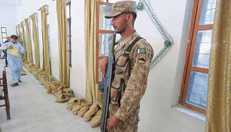 Army deployed in AJK for secure election process