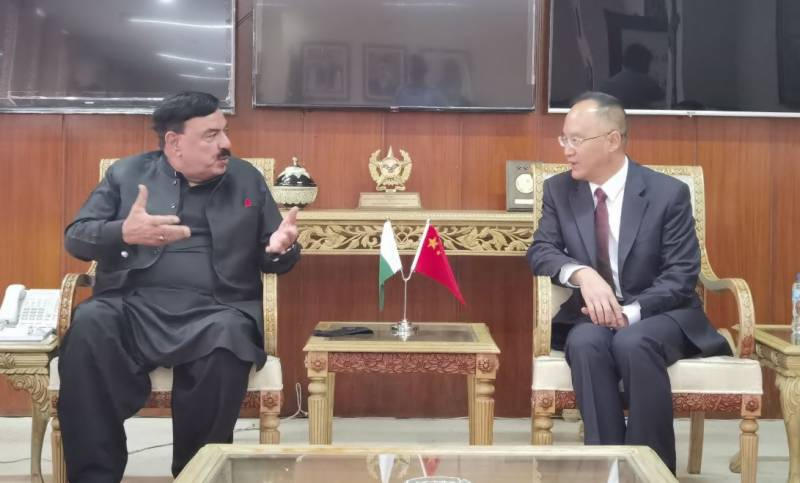 Chinese envoy expresses satisfaction over probe into Dasu incident during meeting with Interior Minister (VIDEO)