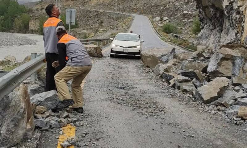 Gilgit-Baltistan CM orders relief steps for tourists stranded due to landslides