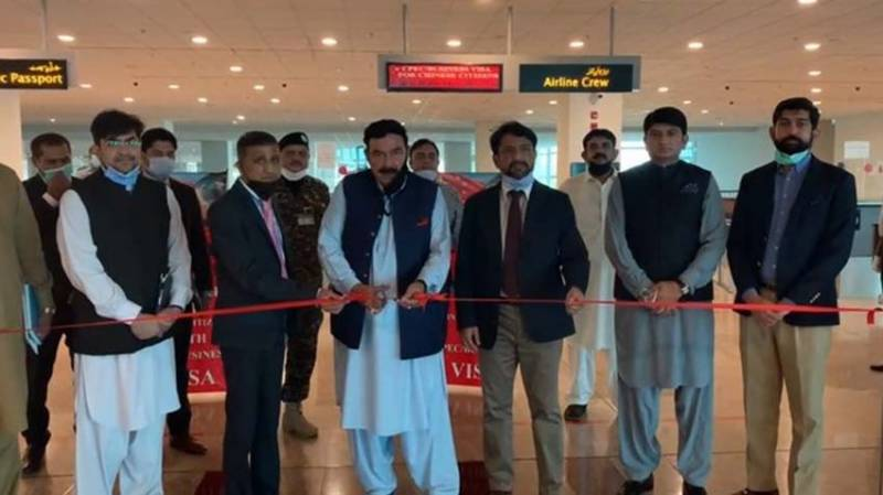 Special immigration counter opened for Chinese nationals at Islamabad airport