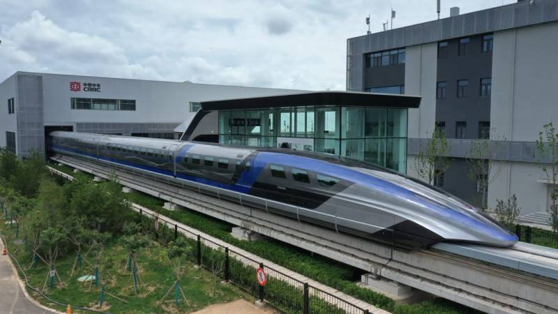 World's fastest train makes debut in China