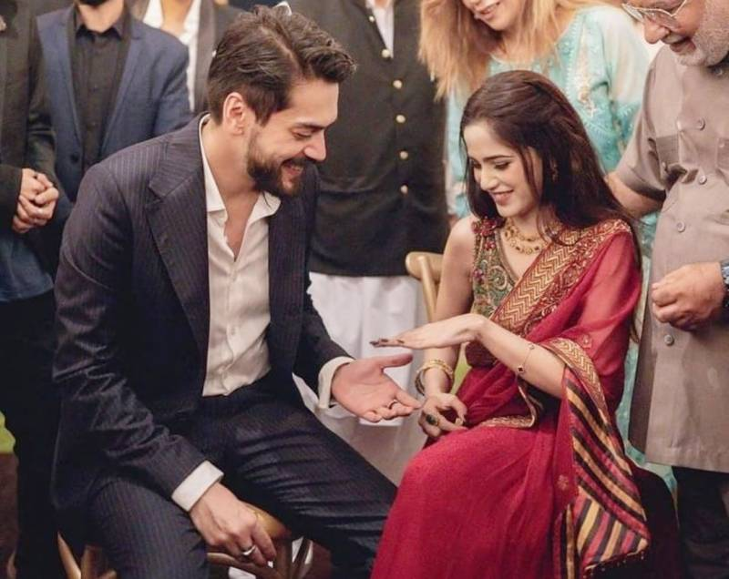 It's official! Aima Baig and Shahbaz Shigri are engaged