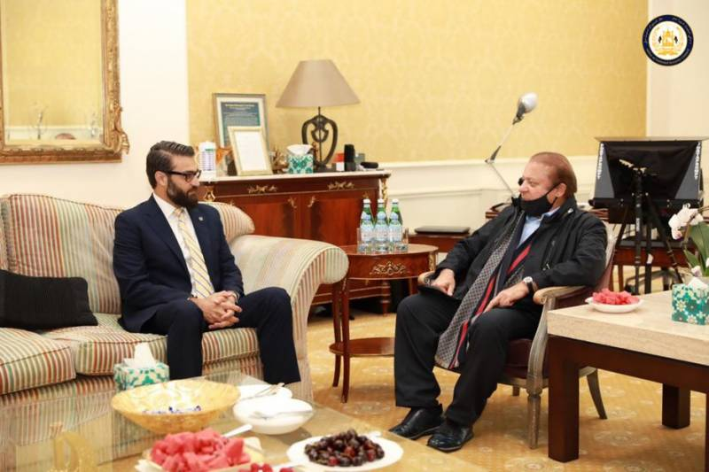 Nawaz Sharif meets top Afghan officials in London amid escalating conflict