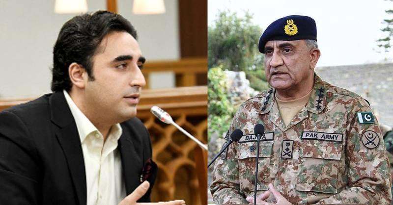 COAS Bajwa invites Bilawal Bhutto to son's wedding