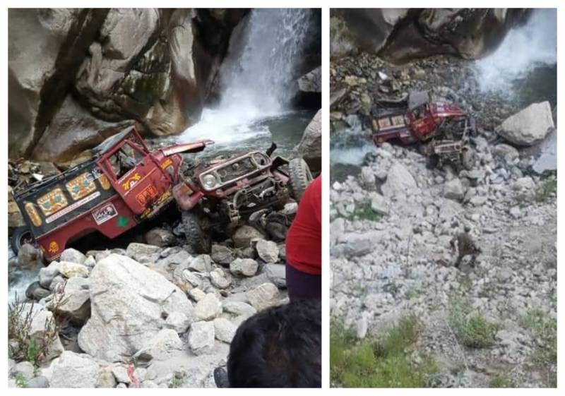 Pakistani soldiers on AJK elections duty die as vehicle plunges into ravine