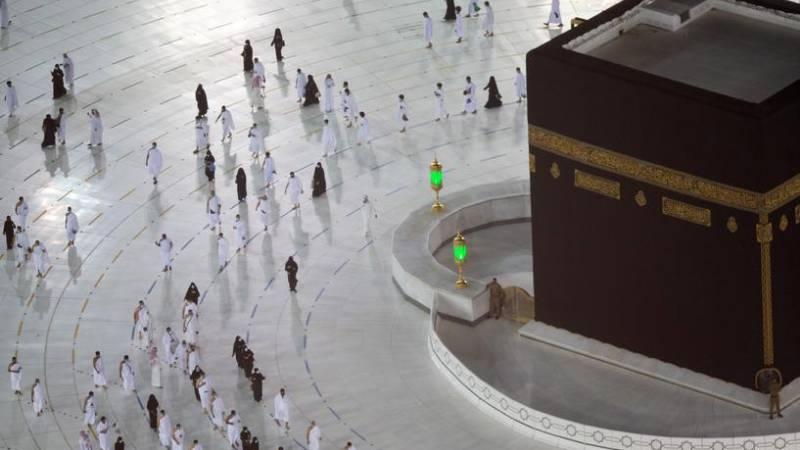 Umrah pilgrims return to Makkah after Hajj 2021