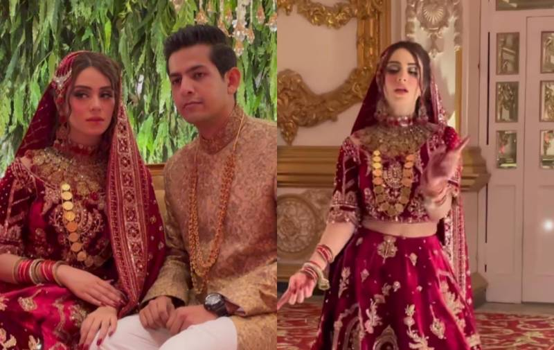 Pakistani bride's super dancing entry goes viral (VIDEO)