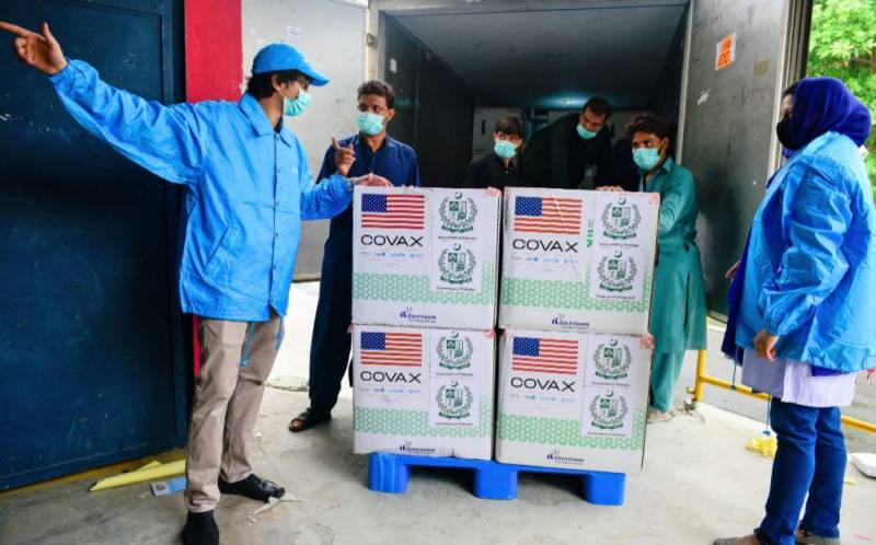 Pakistan receives over three million doses of Moderna, CanSino vaccines