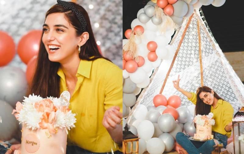 Maya Ali celebrates birthday in style