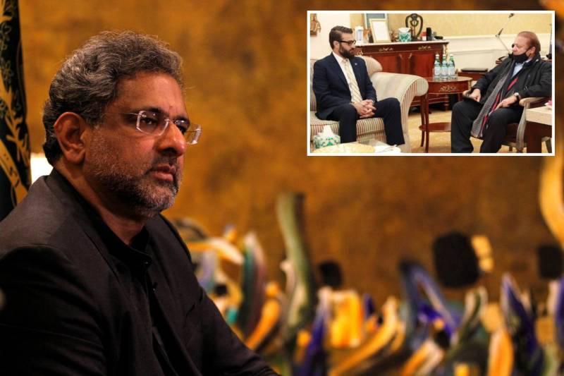 Nawaz Sharif met Hamdullah Mohib 'on the request of Afghan President' (VIDEO)