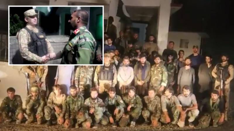 Pakistan amicably repatriates 46 Afghan soldiers who crossed border after Taliban attack: ISPR