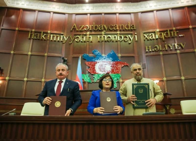 Pakistan, Azerbaijan and Turkey sign Baku Declaration for improved peace, connectivity