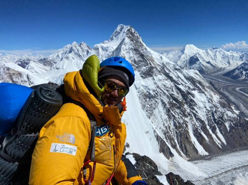 It's a world record! Shehroze Kashif becomes youngest Pakistani to scale K2