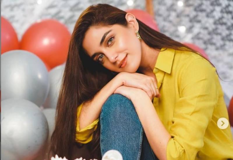 Maya Ali's colourful birthday celebrations go viral