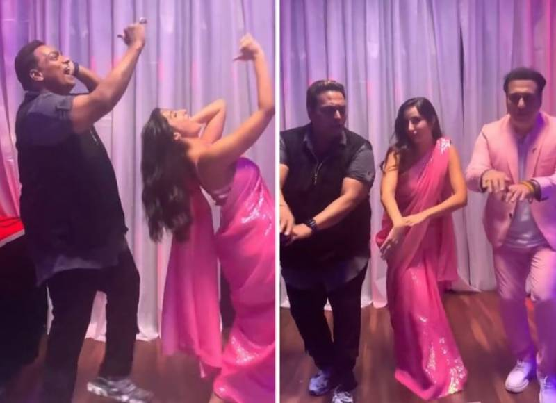 Nora Fatehi and Govinda win hearts with stunning dance moves (VIDEO)